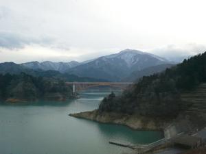 宮ケ瀬冬景色